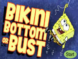 Bikini Bottom Or Bust - Juegos de Bob Esponja de Dragon Ball Z
