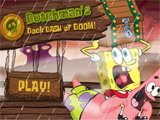 Dutchman's Deck Dash of Doom - Juegos de Bob Esponja Boo or Boom