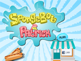 SpongeBob And Patrick - Juegos de Bob Esponja de Dragon Ball Z