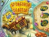 Tractor - Juegos de Bob Esponja béisbol