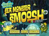Sea Monster Smoosh - Juegos de Bob Esponja de Minecraft